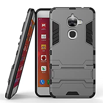 candy house LeEco Le S3 Funda, 2 en 1 Armour Estilo Duro Hybrid Case Heavy Duty Rugged Hard Funda Shock Resistant con Kickstand Soporte Tapa Cover ...