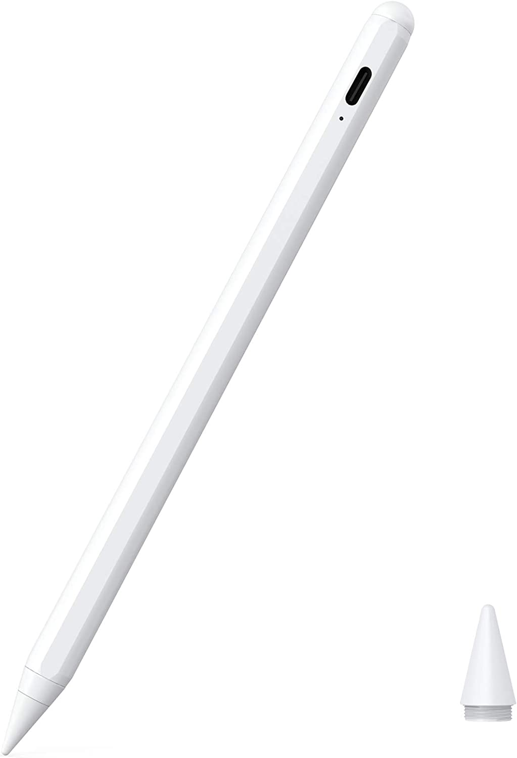 "Stylus Pen for iPad with Palm Rejection,KECOW 2nd Gen iPad Stylus Pen Compatible for(2018-2020) iPad 6/7th Gen,iPad Pro(11/12.9""),iPad Mini 5th Gen, iPad Air 3rd Gen,Precise for Writing/Drawing"