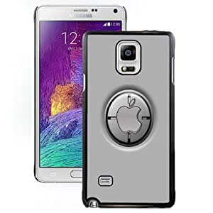 New Personalized Custom Designed For Samsung Galaxy Note 4 N910A N910T N910P N910V N910R4 Phone Case For Apple Logo Button Phone Case Cover