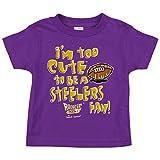 Baltimore Ravens Fans. Too Cute. Purple Onesie (NB-18M) & Toddler Tee (2T-4T)