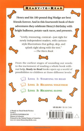 Henry And Mudge And The Best Day Of All Ready To Read Level 2 English Edition