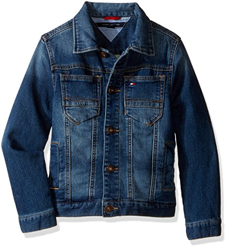 Tommy Hilfiger Boys' Dylan Knit Denim Jacket