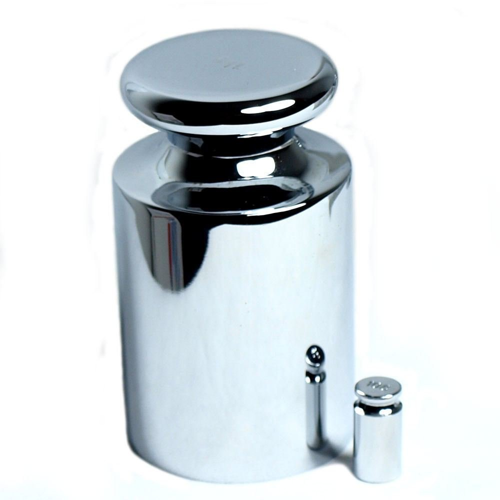1kg 1000g Calibration Weight with Free 10 Gram Test Weight for Digital Scales by Weights