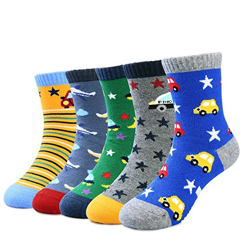 VBG VBIGER Toddler Boys Cotton Socks