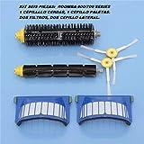 Compatible Repuesto Kit Filtros Cepillos Serie 600 Robot repuestos