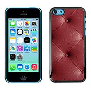 Print Motif Coque de protection Case Cover // V00002449 sofá de cuero de textura // Apple iPhone 5C