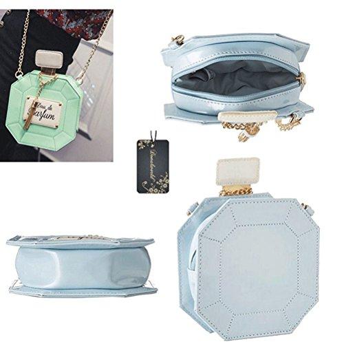 Chain Pink Bag Perfume Women Clutch Handbag Bottle Purse Bag Donalworld Party Evening q5wgPv