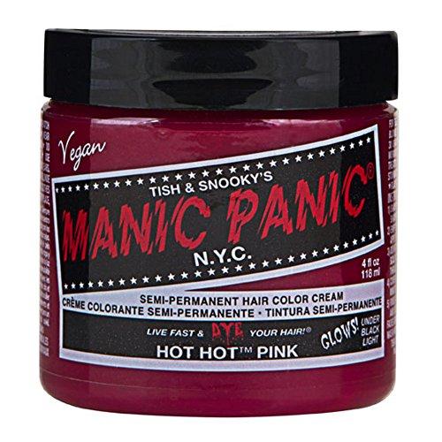 Hot Hot Pink Manic Panic 4 Oz Hair Dye