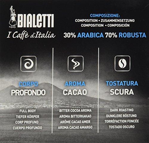Bialetti 96080093/M Café de cápsulas de Napoli, aluminio, 16 unidades): Amazon.es: Hogar