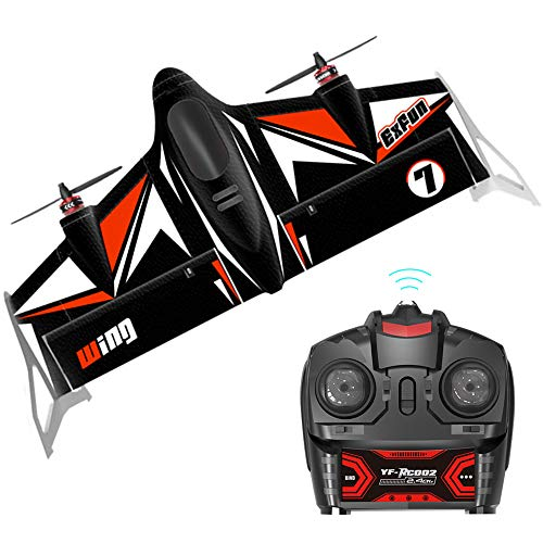 Fixed Wing Airplane ARRIS 500mm Wingspan Vertical FPV RC Plane EPP Fly Wing RC Drone RTF Version ()