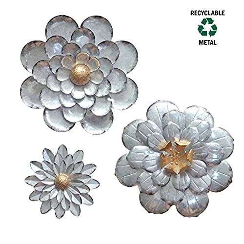 Metal Wall Art Sets of 3: Amazon.com