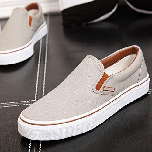 di Size Brown tendenza tela basse scarpe scarpe casual 42 pedali da Scarpe Espadrillas stile Color YaNanHome Brown coreano semplici uomo a Scarpe piatte xgFAHYnqRw