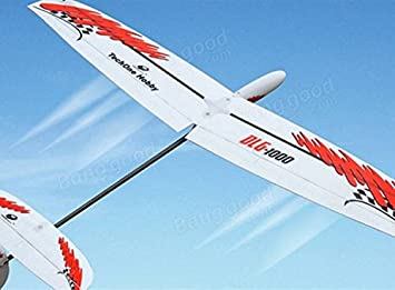 TechOne DLG-1000 995mm Wingspan Discus Launch Glider, Hobbies