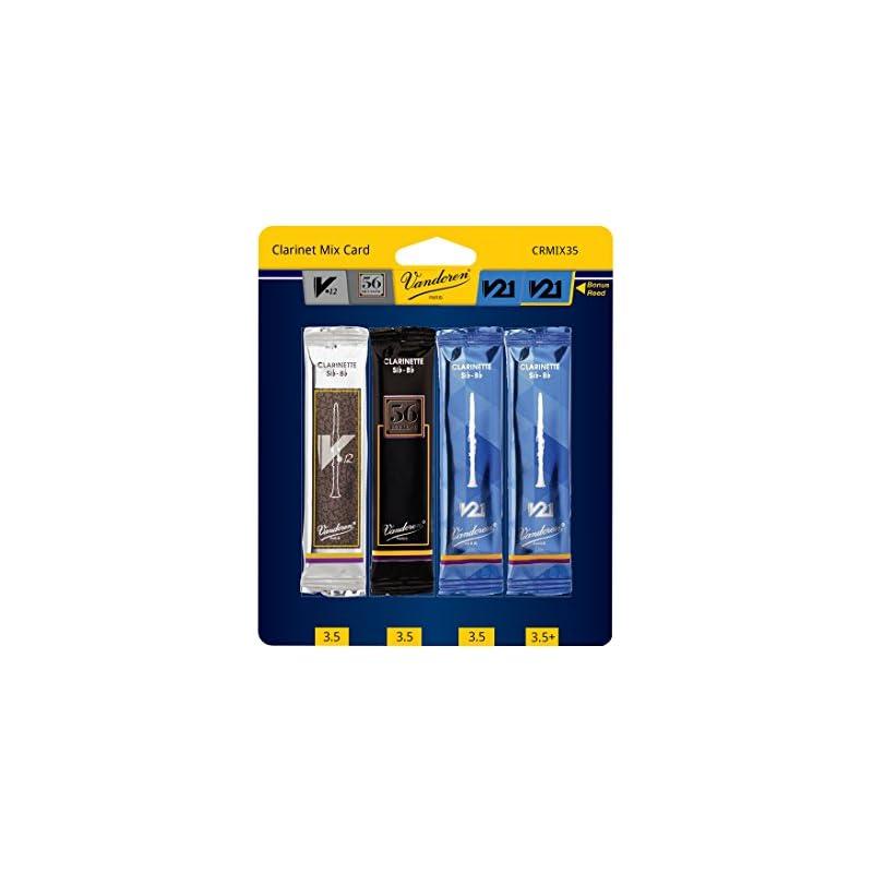 Vandoren CRMIX35 Bb Clarinet Reed Mix Ca