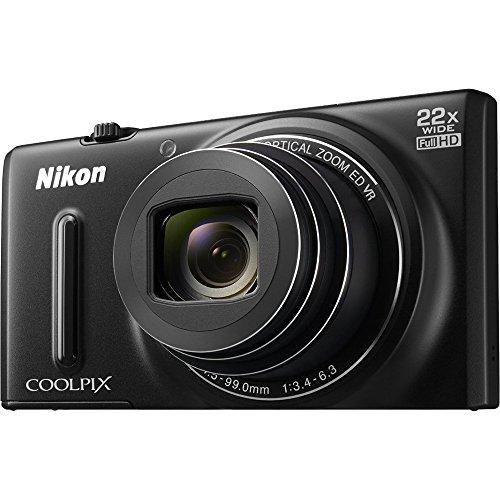 Nikon COOLPIX S9600 16MP WiFi Camera w/ 22x Opt Zoom 1080p Video (Certified Refurbished)