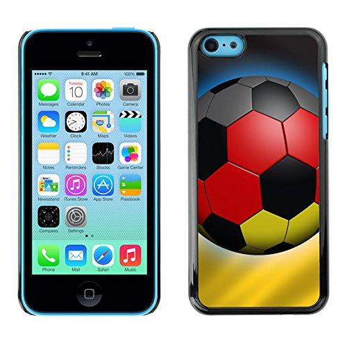 Premio Sottile Slim Cassa Custodia Case Cover Shell // V00002575 Allemagne Soccer // Apple iPhone 5C