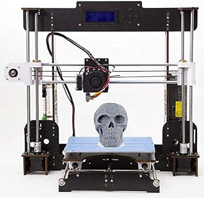 Tigtak - Impresora 3D A8 (Y8) de escritorio, autoensamblable, kit ...
