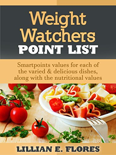 Weight Watchers Point List: Smartpoints Values for Each of the Varied & Delicious Dishes, Along With the Nutritional Values by Lillian E.  Flores