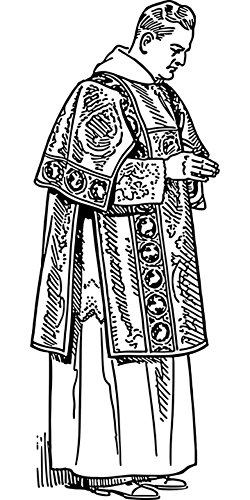 LAMINATED 24x48 Poster: Byzantine Catholic Church Clothes Re