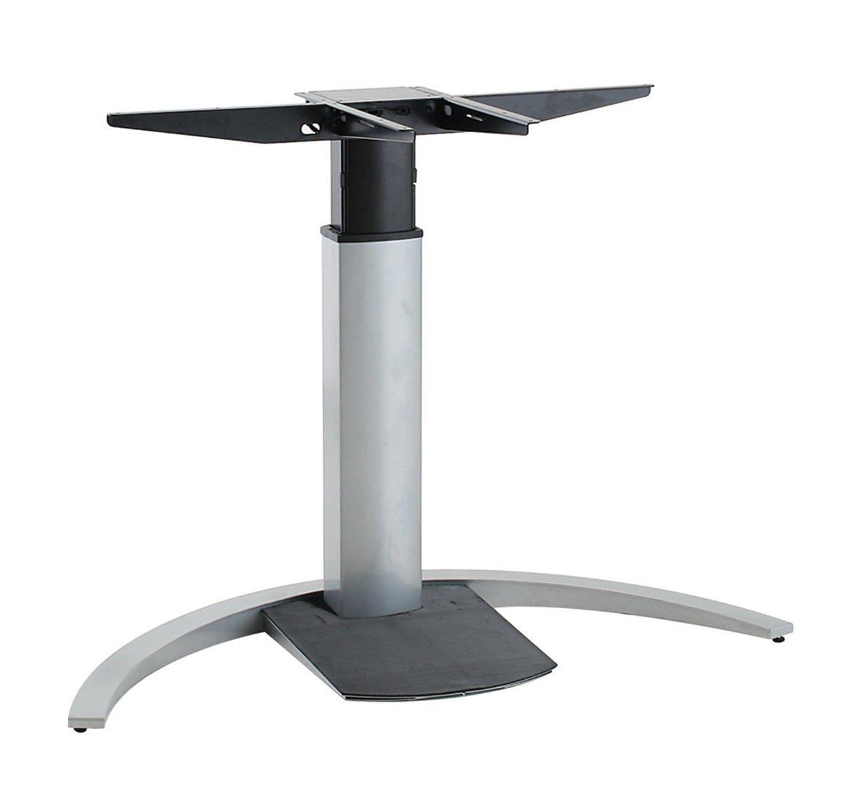 Ergobasis elektrisches Tischgestell Inno-Serie 5 Mono MEMORY, silber