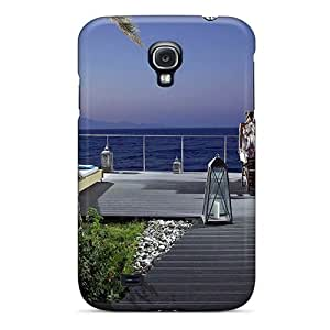 Galaxy S4 Case Slim [ultra Fit] Dream Summer Romantic Evening Protective Case Cover