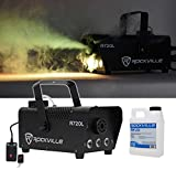 Rockville R720L Fog/Smoke Machine w/ Remote+Multi Color LED Built In!