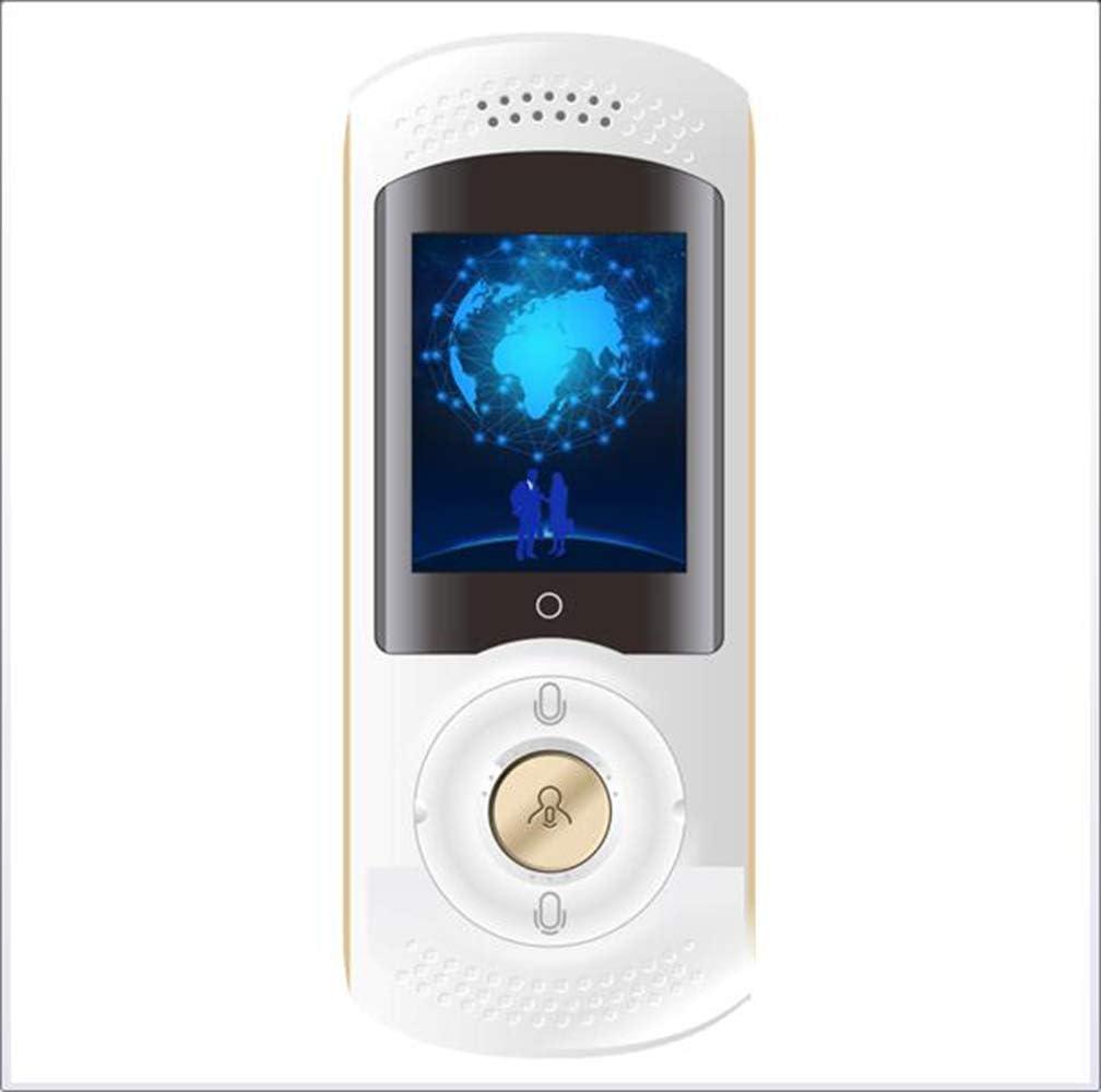インテリジェント言語音声トランスレータ、ポータブル45言語インテリジェント音声トランスレータ2インチのタッチスクリーンはWIFIとホットスポットをサポート,White