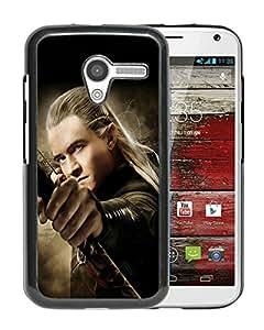 Fashionable And Nice Designed Case With The Hobbit The Desolation of Smaug Legolas Black For Motorola Moto X Phone Case