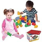 Brinquedo Para Montar Box Block com 19 Peças Dismat