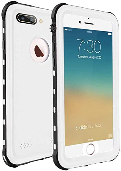 ChuWill Funda Impermeable iPhone 7 Plus, Carcasa iPhone 8 Plus ...