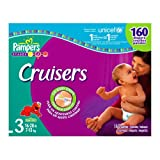 : Pampers Cruisers, Size 3, 160-Count