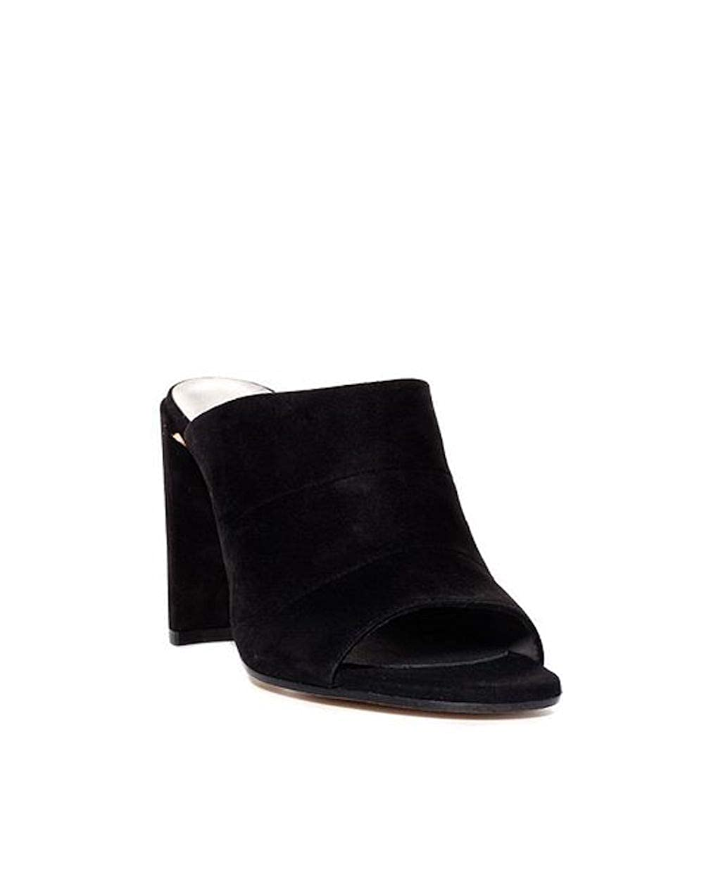 Black Stuart Weitzman Womens Sequel Slide Sandal