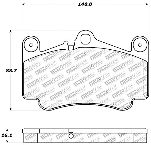 treet Performance Front Brake Pad ()