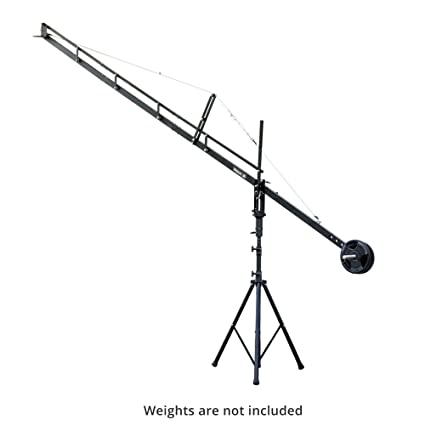 CAMTREE Flyfilms Professional 14ft Film Jib Crane with Stand Boom for  Camera upto 22 lbs