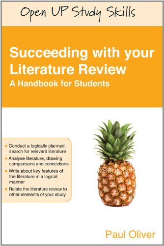 (Succeeding With Your Literature Review: A Handbook For Students (Open Up Study Skills))