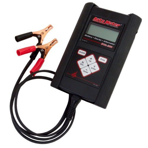 Hand Held Battery Tester : Auto meter bva amp hand held battery and electrical