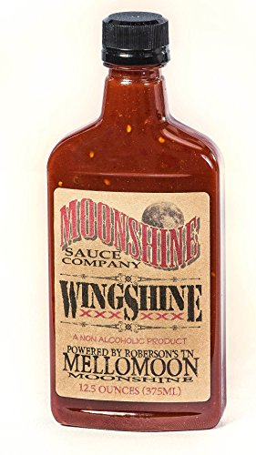 Moonshine Food Company 12.5 Ounce Wingshine Sauce (Pack of 2)