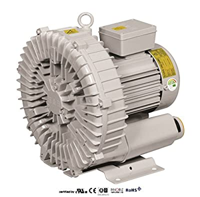 Pacific Regenerative Blower PB-200 (HRB-200), Ring, Side channel, Vacuum Pressure Blowers