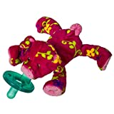 Wubbanub Soft Toy and Pacifier, Pigtail Pig