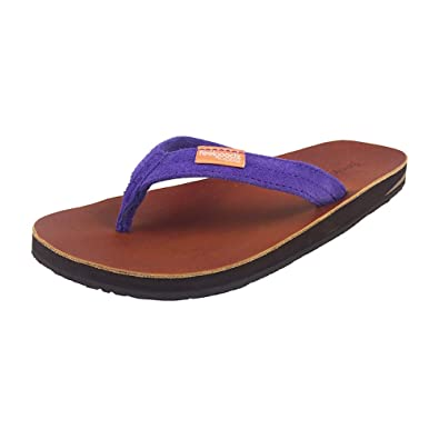 9d0b0a87115fc1 Feelgoodz Womens Leather Flip Flop Slim Kinderz (9.5-11
