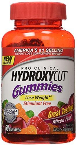 Hydroxycut Clinical Gummies Weightloss servings