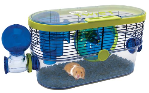 Image of Habitrail Twist Hamster Cage, Small Animal Habitat