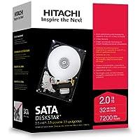 HGST Deskstar 3.5-Inch 2TB 7200RPM SATA II 32MB Cache Internal Hard Drive (0S00164)