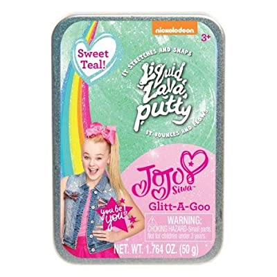 JoJo Siwa Glitt-A-Goo Putty - Sweet Teal: Toys & Games