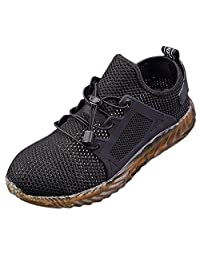 Womens Mens Safety Steel Toe Cap Work Hiking Breathable Trainers Boots Shoes