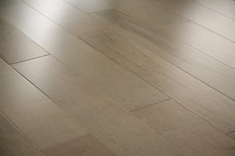 Max Windsor Floors TLEHY0817 Smooth Engineered Hardwood, Metallic Charcoal