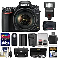Nikon D750 Digital SLR Camera Kit with 24-120mm f/4 VR Lens and Accessories (13 Items) Explained Review Image