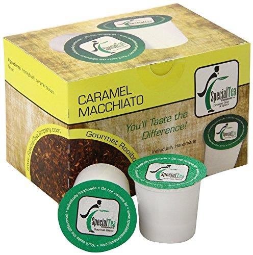 Caramel Macchiato, Single Serve Rooibos Tea Pod (Pack of 10)