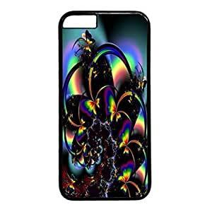 Abstract Design Black PC Case for iphone 6 plusd 5.5 Sunset