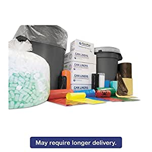 IBSS386014K - Integrated Bagging Systems S386014K Black 14 Mic High-Density Can Liners, 60 Gallons by Inteplast Group